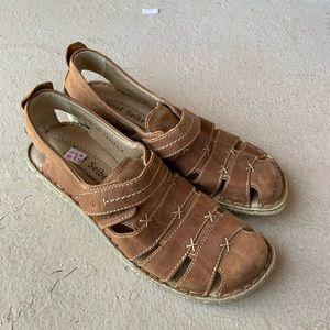 Josef Seibel Ida brown sandals size 40